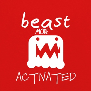 Monster mode activated - beast mode activated - Kids' Premium Longsleeve Shirt