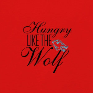 Hungry like the wolf - Kids' Premium Longsleeve Shirt