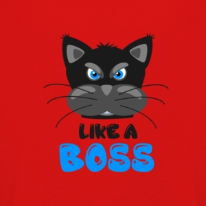 CAT | LIKE A BOSS - Kinder Premium Langarmshirt