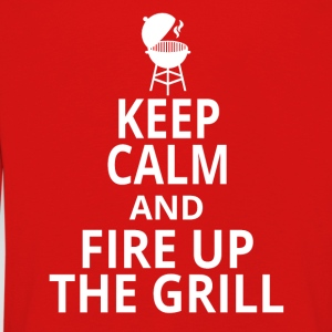fire up the grill - Kinder Premium Langarmshirt