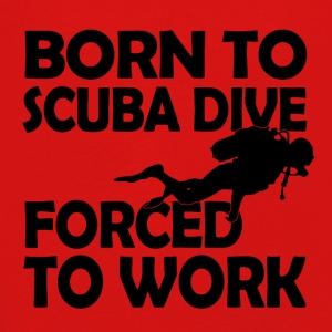born to scuba dive - Kinder Premium Langarmshirt