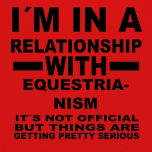 Relationship with EQUESTRIANISM - Kids' Premium Longsleeve Shirt