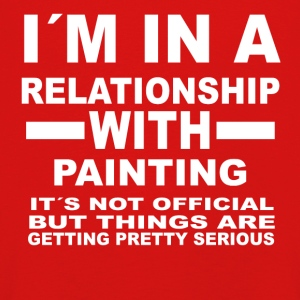 Relationship with PAINTING - Kids' Premium Longsleeve Shirt