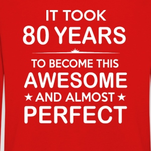 It took 80 years to become this awesome - Kids' Premium Longsleeve Shirt