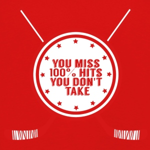 Hockey: You miss 100% hits you don't take - Kids' Premium Longsleeve Shirt