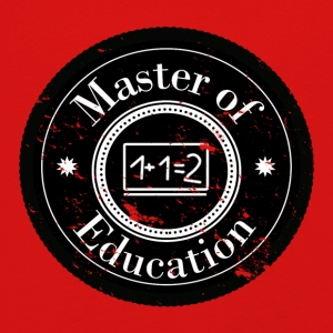 Master of Education Patch - Maglietta Premium a manica lunga per bambini