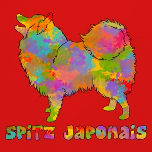 Japanese Spitz Multicolored - Kids' Premium Longsleeve Shirt