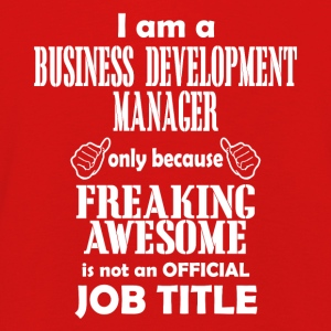 business development manager - Kinder Premium Langarmshirt