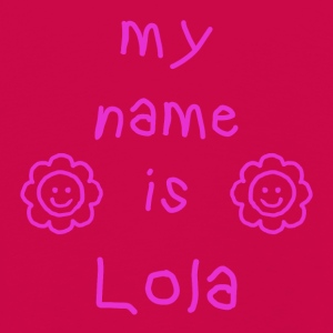 MY NAME IS LOLA - Premium langermet T-skjorte for barn