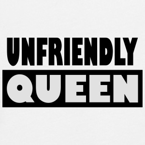 unfriendly Queen - Teenagers' Premium Longsleeve Shirt