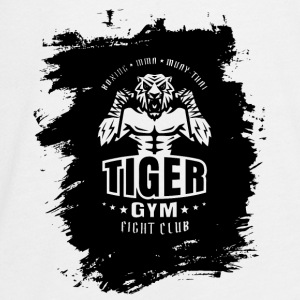 Tiger Gym - Teenager Premium Langarmshirt
