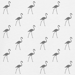 many gray flamingos - Teenagers' Premium Longsleeve Shirt