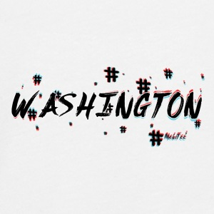 Washington # 3d - Teenager premium T-shirt med lange ærmer