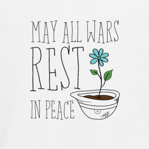May All Wars Rest In Peace - Teenager Premium Langarmshirt