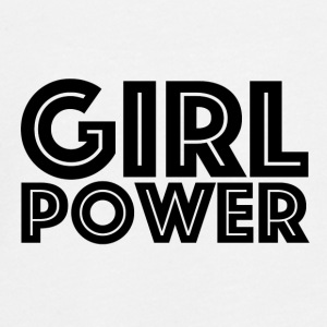 GIRL POWER - Teenagers' Premium Longsleeve Shirt