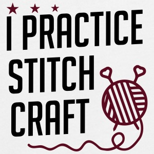 I practice stitch craft - Teenager Premium Langarmshirt