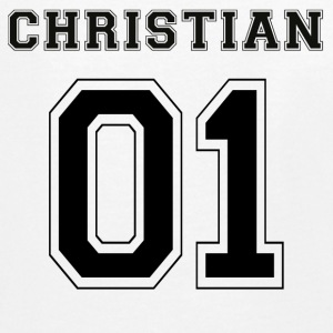 Christian 01 - Black Edition - Teenagers' Premium Longsleeve Shirt