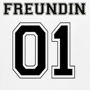 Freundin - Black Edition - Teenager Premium Langarmshirt