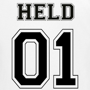 HELD 01 - Black Edition - Teenager Premium Langarmshirt