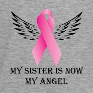 My Syster is now My Angel. Cancer Awareness - Teenagers' Premium Longsleeve Shirt