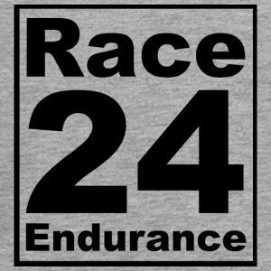 Race24 logo in black - Teenagers' Premium Longsleeve Shirt