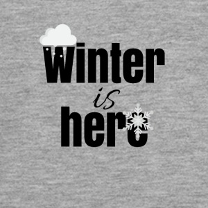 Winter is here - Teenager Premium Langarmshirt