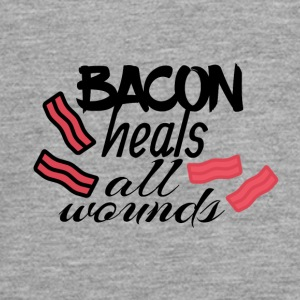 Bacon heals everything - Teenagers' Premium Longsleeve Shirt