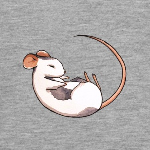 Sleeping mouse - Teenagers' Premium Longsleeve Shirt