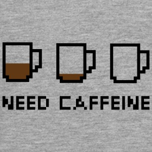 Need Caffeine - Teenagers' Premium Longsleeve Shirt