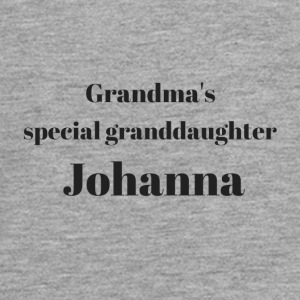 Grandma s special granddaughter Johanna - Teenager Premium Langarmshirt