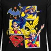 DC Super Hero Girls Batgirl Wonder Woman Supergirl - T-shirt manches longues Premium Ado