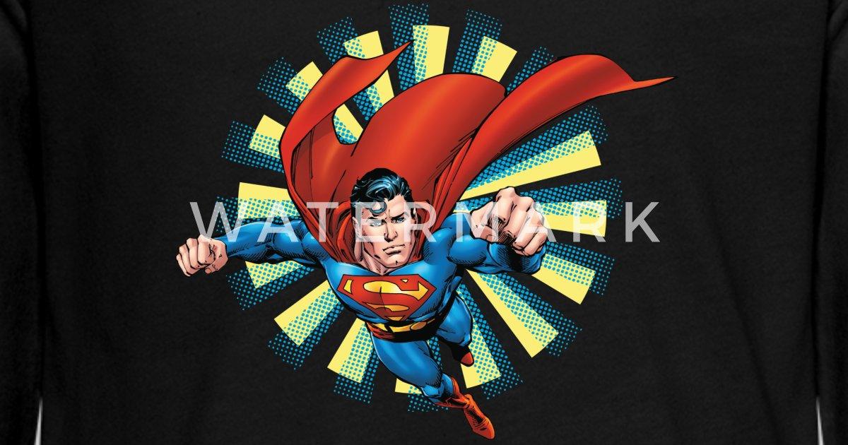Superman Classic Pose Teenager Longsleeve Premium T skjorte