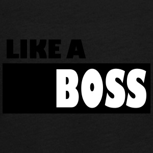 Like a Boss - Teenager Premium Langarmshirt