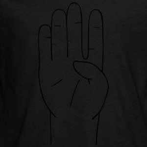 Hand sign - Teenagers' Premium Longsleeve Shirt