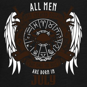 all men are equal to July star sign cancer - Teenagers' Premium Longsleeve Shirt