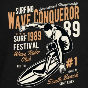 Surfing wave surf beach sun beach wave - Teenagers' Premium Longsleeve Shirt
