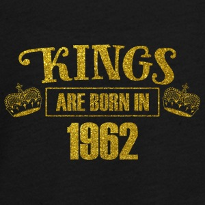 Kings are born in 1962 - Birthday Koenig Gold - Teenagers' Premium Longsleeve Shirt