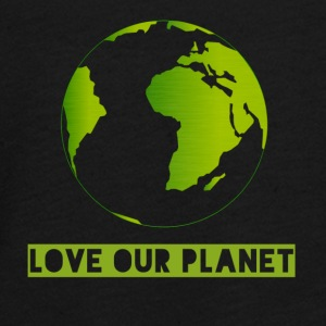 LOVE OUR PLANET - Teenagers' Premium Longsleeve Shirt