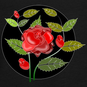 Rose ornament - Teenager premium T-shirt med lange ærmer