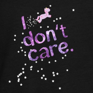 Dont Care Unicorn amour ananas licorne - T-shirt manches longues Premium Ado