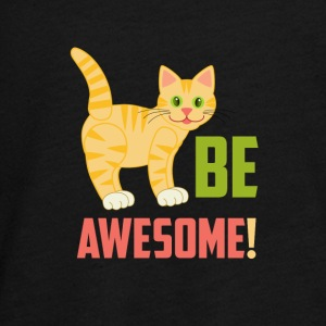 BE AWESOME CAT - Teenager Premium shirt met lange mouwen