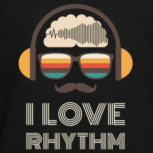 I Love Rhythm - Teenagers' Premium Longsleeve Shirt