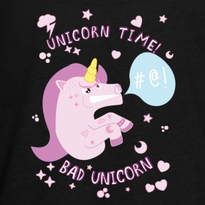 Bad Unicorn - Camiseta de manga larga premium adolescente