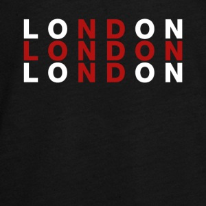 London, Storbritannien Flag Shirt - London t-shirt - Teenager premium T-shirt med lange ærmer