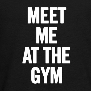 Meet Me At The Gym - T-shirt manches longues Premium Ado