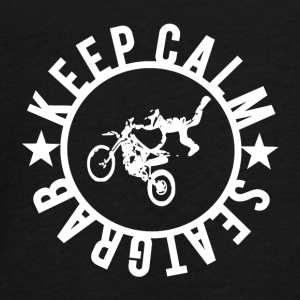 KEEPCALM and SEATGRAB - Teenager Premium Langarmshirt