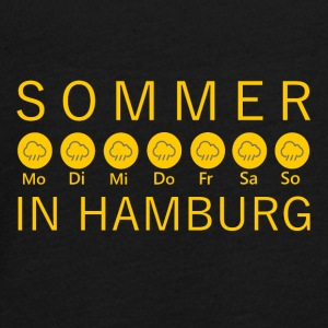 Sommer in Hamburg - Teenager Premium Langarmshirt