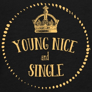 Young Nice and SINGLE - Teenagers' Premium Longsleeve Shirt