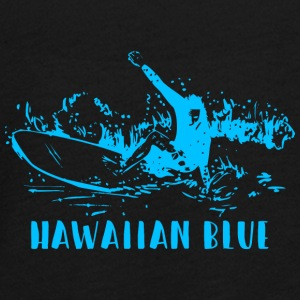Hawaiian Blue Surfer - Teenagers' Premium Longsleeve Shirt