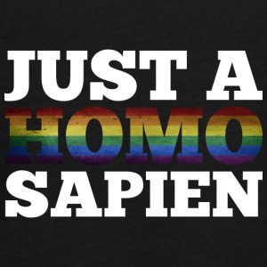 JUST A HOMO SAPIEN - Teenagers' Premium Longsleeve Shirt